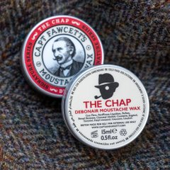 2233 Воск для усов The Chap 'Debonair' Moustache Wax, 15 мл