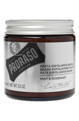 Мужской скраб для лица и бороды Proraso Beard Exfoliating Paste with Mint & Rosemary