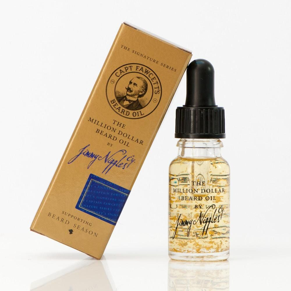 1115 Масло для бороды Jimmy Niggles Esq. The Million Dollar Beard Oil CAPTAIN FAWCETT'S , Travel Sized