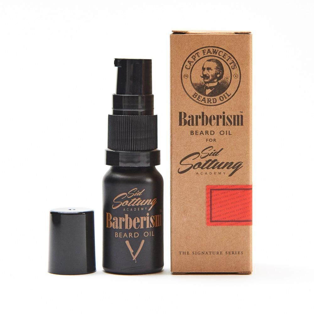 1117 Масло для бороды Barberism™ Beard Oil CAPTAIN FAWCETT'S, Travel Sized