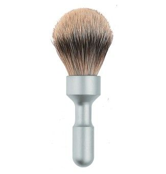 901700002 Помазок з сріблястим ворсом борсука  Shaving brush FUTUR
