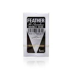 Леза Feather H-Stainless, 5 шт., ч