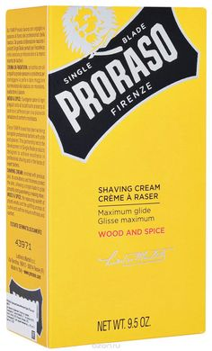3546 Крем для гоління Proraso Shaving Cream Wood & Spice 275 ml